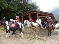On horseback in the Abruzzo Park