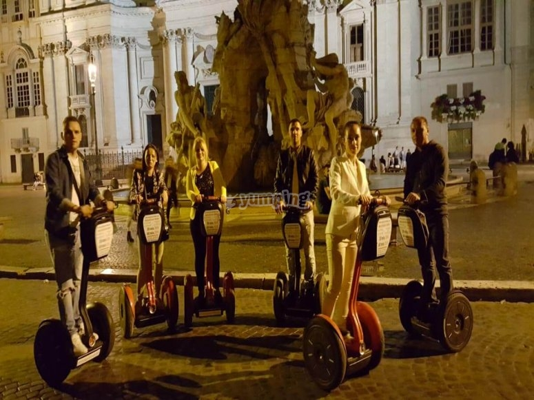 Piazza Navona notturna