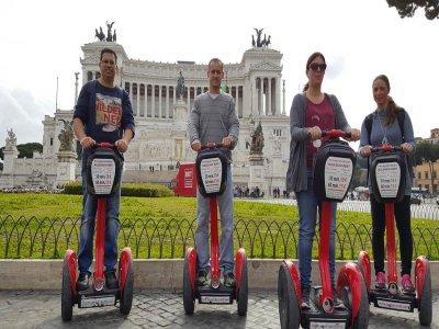 Roma centro e Villa Borghese in Segway (2 ore)