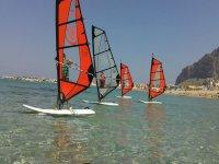 Lezioni di windsurf palermo