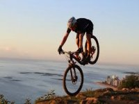 In Mountain Bike!