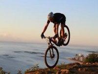 In Mountain Bike!