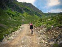 Biciclettando nella natura
