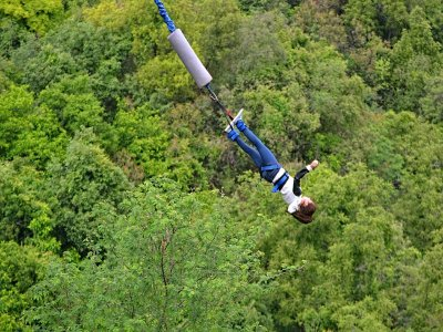 Bungee jumping 175mt in Valgadena 1 ora e 30