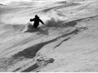 Bianche piste da sci