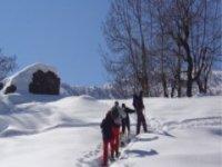 Escursioni con ciaspole