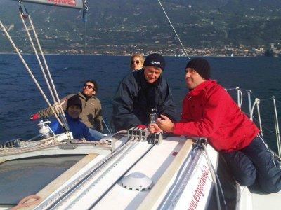 Corso vela principianti sul Lago di Garda