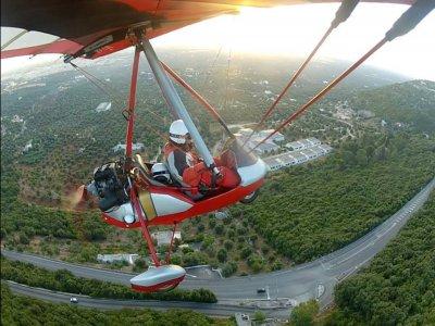 Volo in deltaplano con video 1 ora Alberobello