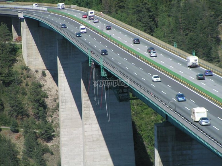Il ponte del bungee