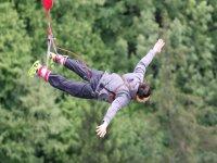 Salto in Bungee Jumping vicino Bolzano (192m)