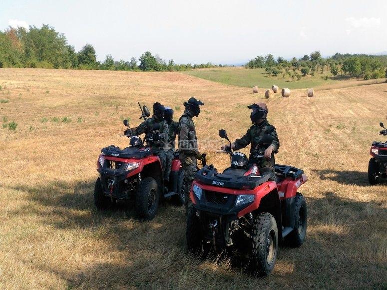 Moto-quad ATV