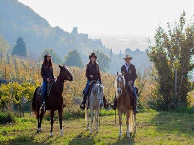 Giornata a cavallo a Monteforte d'Alpone esperti