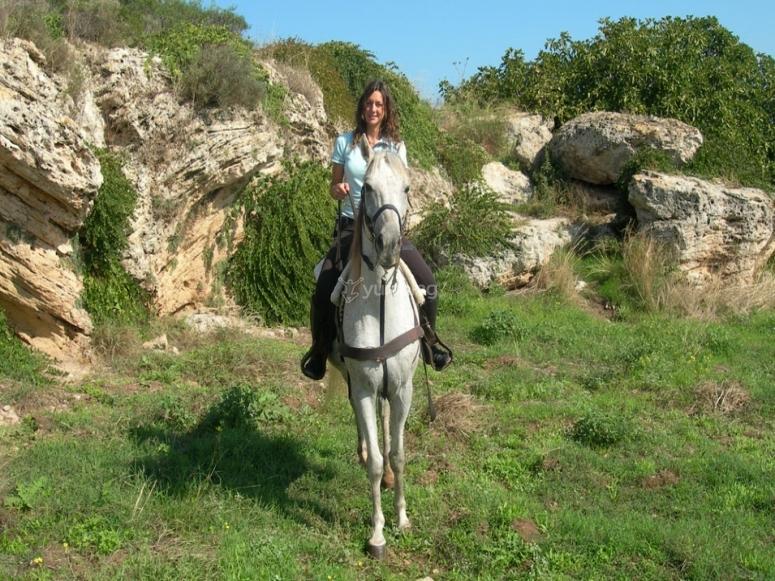 Vieni a cavallo con noi!