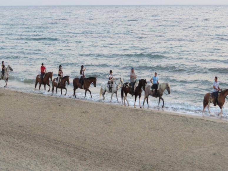Tutti in spiaggia