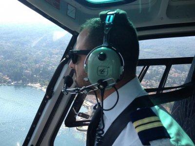 Tour Elicottero esclusivo sui laghi Brianza 40min