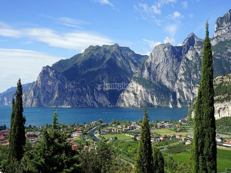 Il magnifico lago di Garda