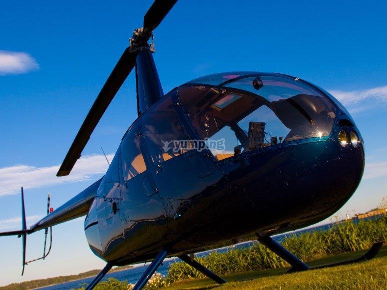 L'elicottero R44