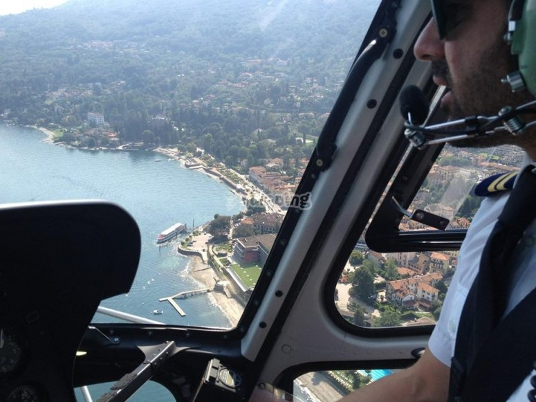 Il pilota ai comandi
