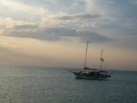 Il caicco Regina Isabella in navigazione