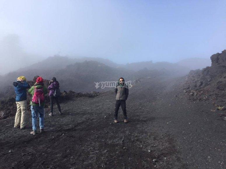 Escursione sul vulcano