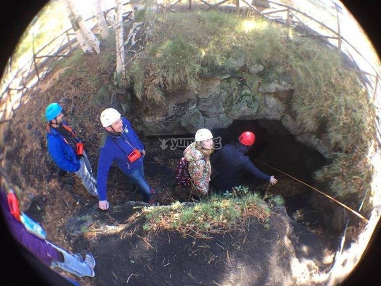 Trekking alle grotte