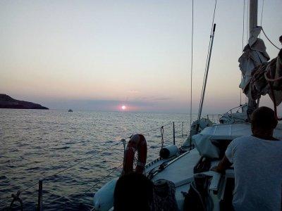 Weekend in barca a vela in Grecia