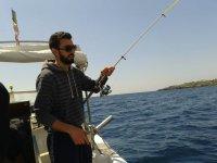 Battuta di pesca a traina nel Salento
