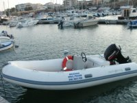 our boat awaits you in the port