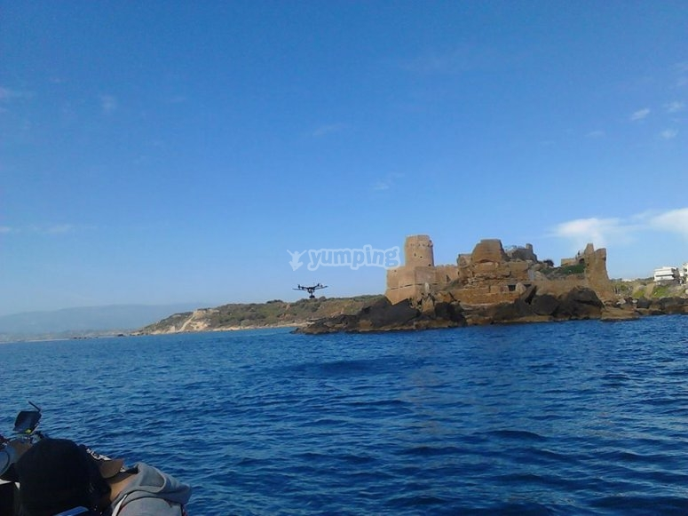Le castella dal largo