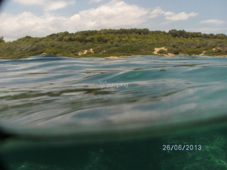 Il mare di Capo Cimiti