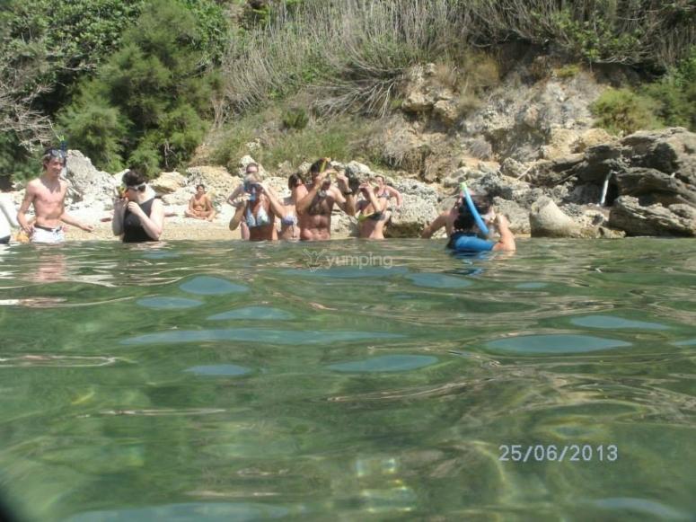 Pronti per lo snorkeling