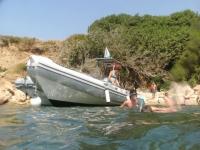 Tour con snorkeling e aperitivo ColonneRomane 4ore
