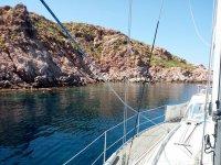 Vista dalla barca