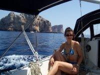 Godendosi la giornata in barca
