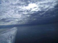 Un cielo plumbeo e una vista mozzafiato