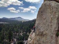 Arrampicarsi sulle rocce