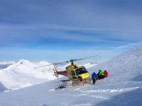 Si atterra sulla neve