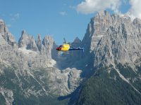 Volare sulle Dolomiti