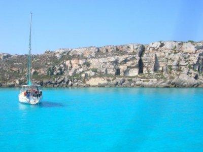 Week on a sailing boat, Egadi Islands high season