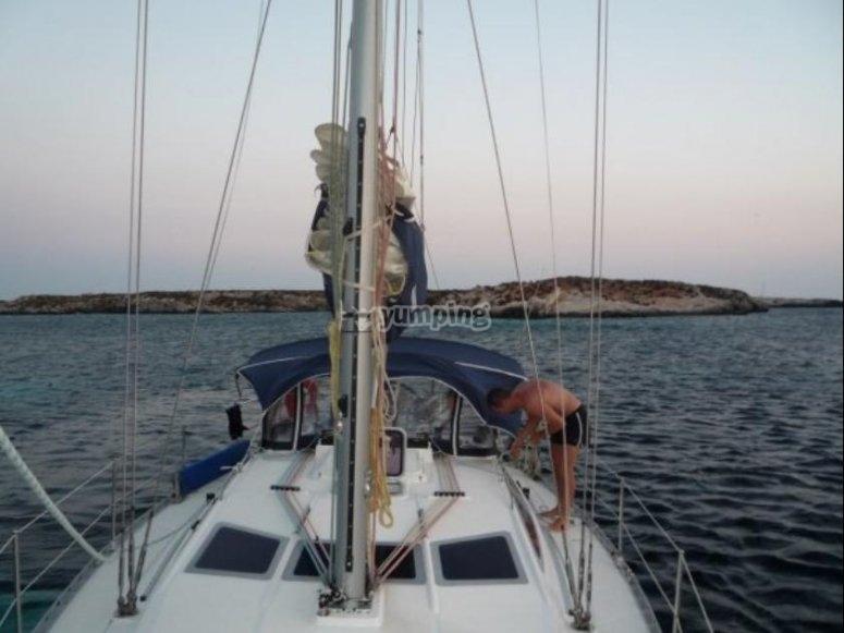 A bordo di Hiera