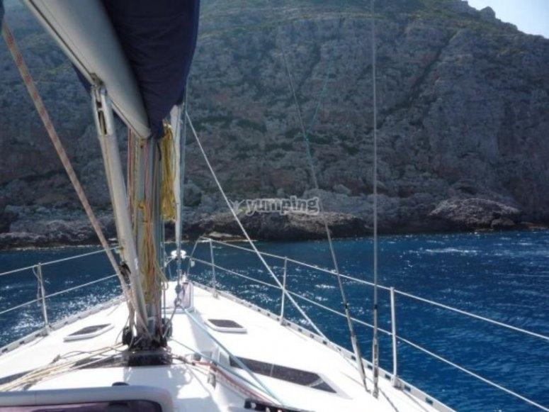 Vacanza in barca a vela.