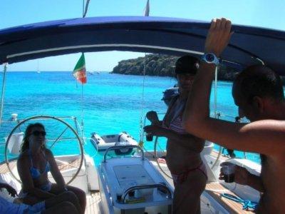 Week on a sailboat Egadi Islands low season