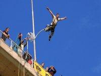 Bungee jumping da 55 metri, Solkan