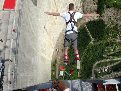 Bungee Jumping da 165 metri vicino a Bolzano
