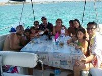 A pranzo in barca
