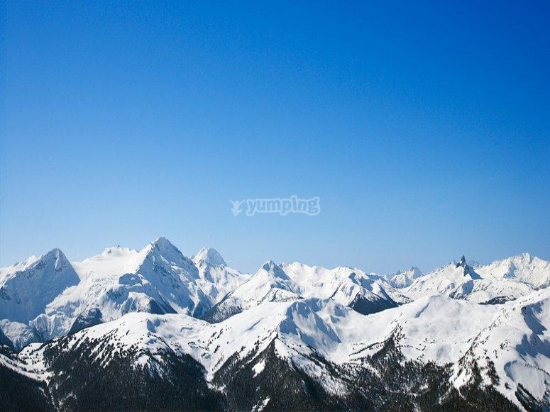 Le Alpi dall'alto