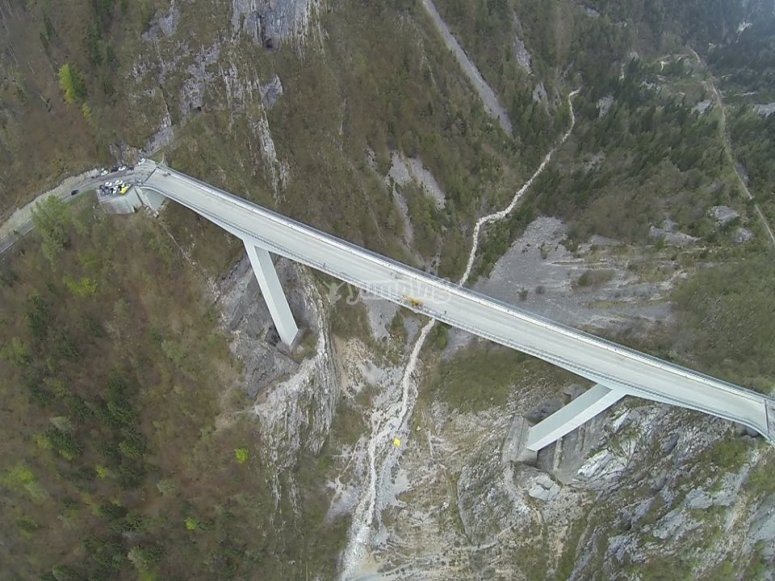 Il ponte Valgadena