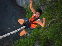 Bungy jumping con foto e video in Valgadena 175mt