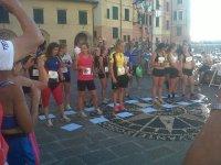 partenza competizione femminile