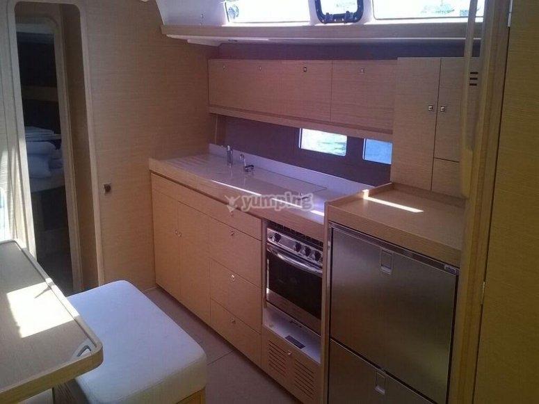 Beautiful internal kitchen